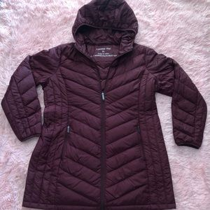 London Fog Light weight packable down jacket
